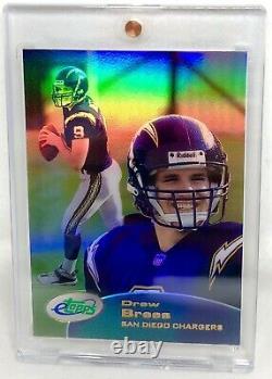 2001 Etopps Rookie Saints Drew Brees Sp