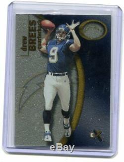 2001 Fleer E-X Drew Brees RC 942/1000 Saints NM-MT (CBF)