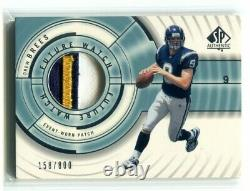 2001 SP Authentic Drew Brees Future Watch Patch RC 158/800 NM+