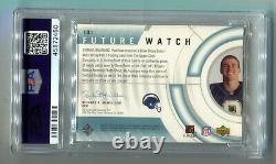 2001 SP Authentic Drew Brees Future Watch Patch RC 223/800 PSA 9 MINT (CBF)