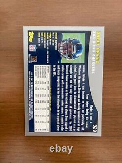 2001 Topps Drew Brees Rookie RC #328 VERY RARE