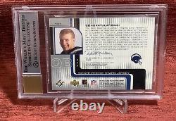 2001 Upper Deck SPX DREW BREES #/250 Rookie Patch Auto RPA RC BGS 8.5 NR-MT+