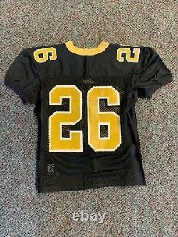 2001 reebok NFL New Orleans Saints Deuce Mcallister practice jersey VTG size 48
