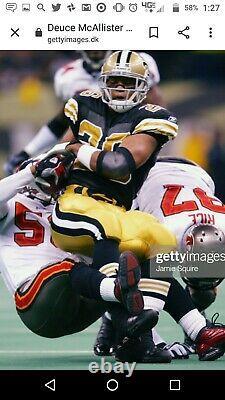 2002 New Orleans Saints Team Issued Classic Game Uniform Reebok Pant RARE