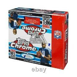 2006 Topps Chrome Football 24ct Retail Box
