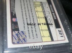 2006 Topps Chrome Reggie Bush Auto Rookie #221 BGS 9.5 Gem Mint