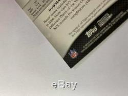 2010 Bowman Sterling Football Supefractor Auto Autograph card Drew Brees #1/1