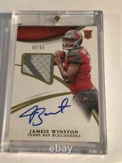 2015 Immaculate Jameis Winston Rookie Patch Auto /99 #165