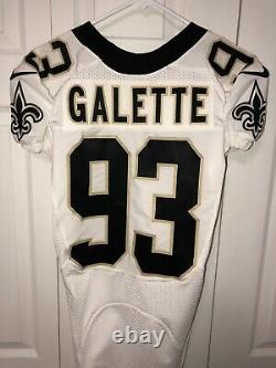 2015 New Orleans Saints Game Issued Jersey (Junior Galette)