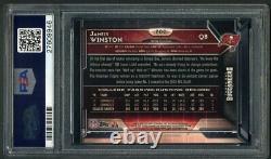 2015 Topps Chrome #200 Jameis Winston Rookie Card PSA 10 Tampa Bay Buccaneers