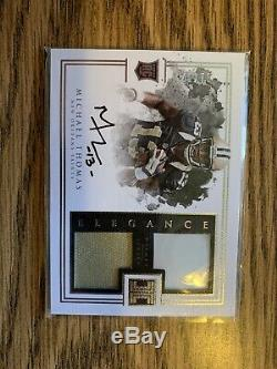 2016 Panini Impeccable MICHAEL THOMAS ON CARD AUTO Rookie RC Dual Relic /75 HOT