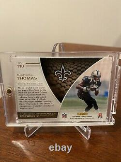 2016 Panini Limited Michael Thomas Rookie Patch Auto RPA /299 3 color patch 110