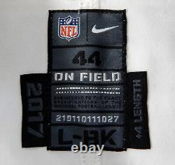 2017 New Orleans Saints Coby Fleener #82 Game Issued White Jersey