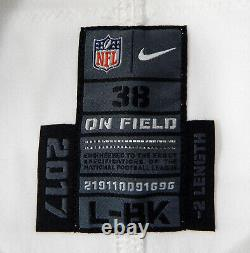 2017 New Orleans Saints Kurt Coleman #29 Game Issued White Jersey