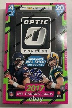 2017 Panini Optic Football Hobby box Mahomes, Watson, McCaffery ROOKIES