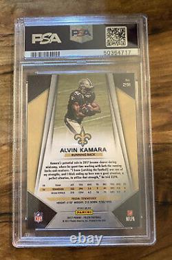 2017 Panini Prizm #291 Alvin Kamara Silver RC Rookie Card PSA 10 GEM MINT Saints