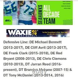 2017 Tony McDaniel Game Worn New Orleans Saints Nike Jersey