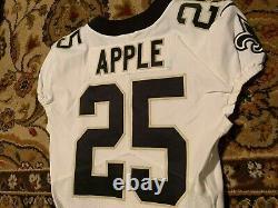 2019 Eli Apple Game Worn New Orleans Saints Nike Jersey Size 40 OHIO STATE