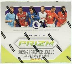 2020-21 Panini Prizm Soccer EPL Breakaway Factory Sealed Hobby Box