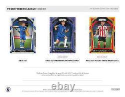 2020-21 Panini Prizm Soccer Premier League Epl Breakaway Box Free Shipping