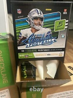 2020 ABSOLUTE NFL Gravity Feed Box -48 Packs FACTORY SEALED