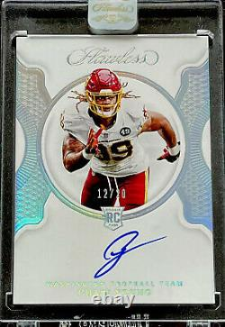 2020 Flawless Football CHASE YOUNG TRUE RC Rookie Auto /20 DROY! WFT! SKINS