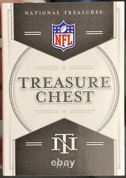 2020 National Treasures Treasure Chest TC-SBQB Brady Mahomes Rodgers Brees /49