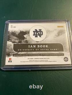 2021 Panini Chronicles Origins Ian Book Patch Autograph GOLD 4/10 HOT