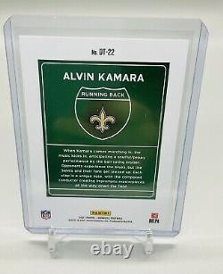 Alvin Kamara New Orleans Saints 2021 Panini Donruss Downtown #dt-22 Ssp