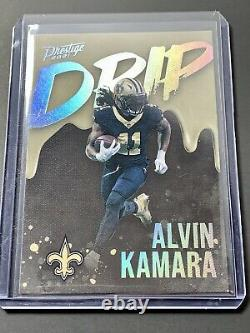 Alvin Kamara SSP Drip Case Hit! Clean/Sharp 2021 Prestige New Orleans Saints