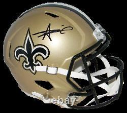 Alvin Kamara Signed Autographed New Orleans Saints Full Size Speed Helmet Jsa