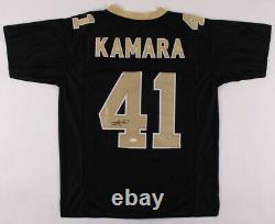 Alvin Kamara Signed Jersey New Orleans Saints JSA COA