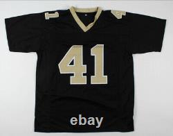 Alvin Kamara Signed New Orleans Saints Custom Football Jersey Beckett COA NFL