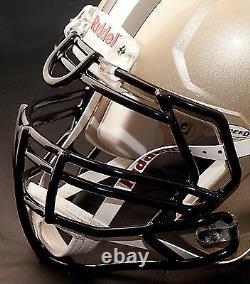 CUSTOM NEW ORLEANS SAINTS NFL Riddell Full Size SPEED Football Helmet