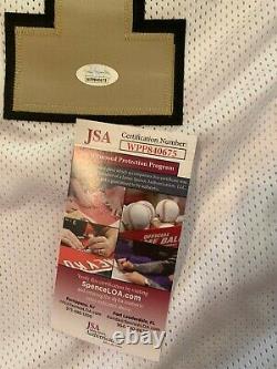 Cam Jordan Autographed New Orleans Saints Jersey JSA Witnessed COA