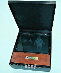 DREW BREES 2003 Playoff Absolute Memorabilia GU Jersey Etched Glass Plaque /150