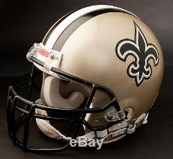 DREW BREES Edition NEW ORLEANS SAINTS Riddell REPLICA Football Helmet NFL