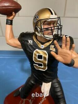 Danbury Mint New Orleans Saints Drew Brees. Signed