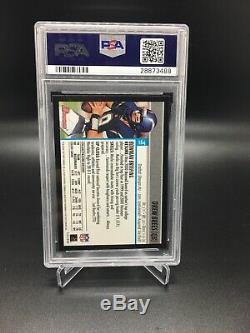 Drew Brees 2001 Bowman #164 Rc Rookie Card Psa 9 Mint