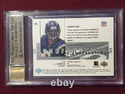 Drew Brees 2001 SP Authentic Sign Of The Times Auto Rookie Card BGS 9.5/10