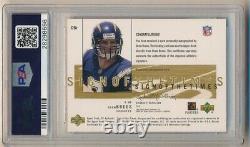 Drew Brees 2001 Sp Authentic Rc Sign Times Gold Autograph /25 Psa 10 Gem 10 Auto