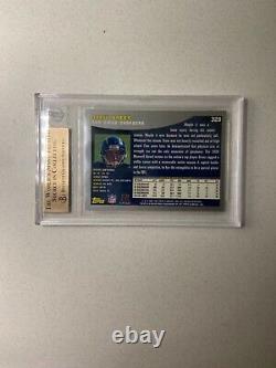 Drew Brees 2001 Topps Rookie Rc #328 Bgs 9.5 Gem-mint Saints Legend