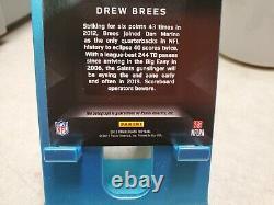 Drew Brees 2013 Panini Black Football Auto Card 2/5 Signed #T1130