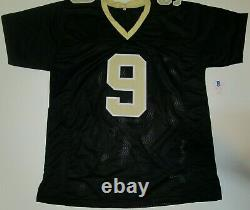 Drew Brees #9 New Orleans Saints Auto Autographed Signed Football Jersey Beckett