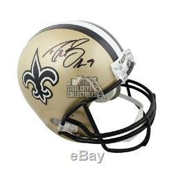 Drew Brees Autographed New Orleans Saints Full-Size Helmet JSA COA