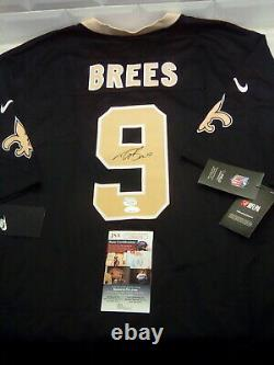 Drew Brees Autographed Signed Nike Limited Jersey Fanatics & JSA COA! RARE