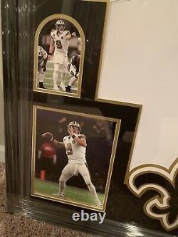 Drew Brees New Orleans Saints Signed Nike Color Rush Autograph Jersey PSA COA