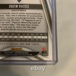 Drew Brees One Of One True 1/1 2020 Panini Certified #71 Saints Rare Limited