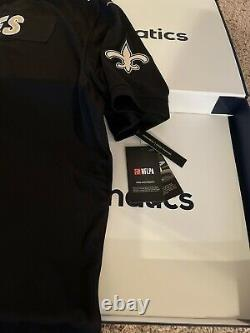Drew Brees Signed Autographed Authentic Nike Jersey Fanatics COA INSCRIPTION