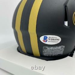 Drew Brees Signed New Orleans Saints Eclipse Mini-Helmet